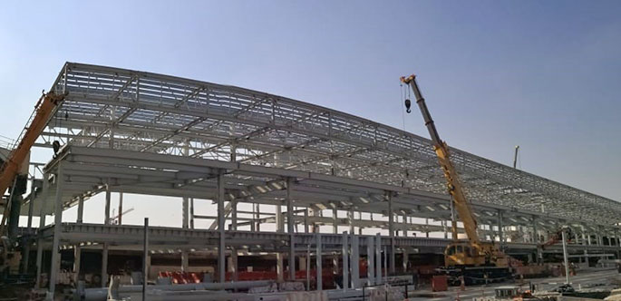 Steel Buildings from Zamil Steel, Specialized in Pre Engineered