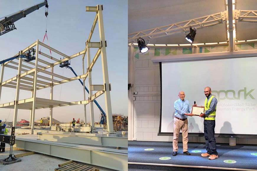 ZSCC supplies ConXtech steel structures for Saudi Aramco's King Salman Energy Park project