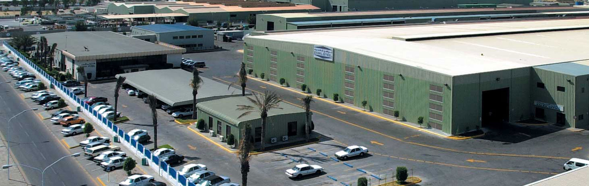 Steel Buildings from Zamil Steel, Specialized in Pre